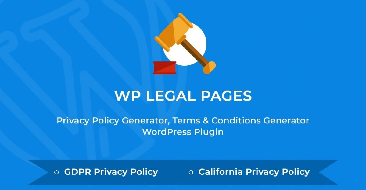 WP Legal Pages for AdSense Requirements