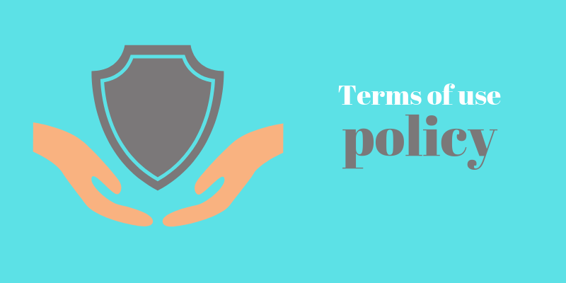 How to create terms of use policy for the website