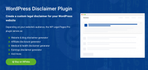 WP Disclaimer Plugin