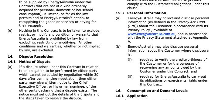 Energy Australia Privacy Policy