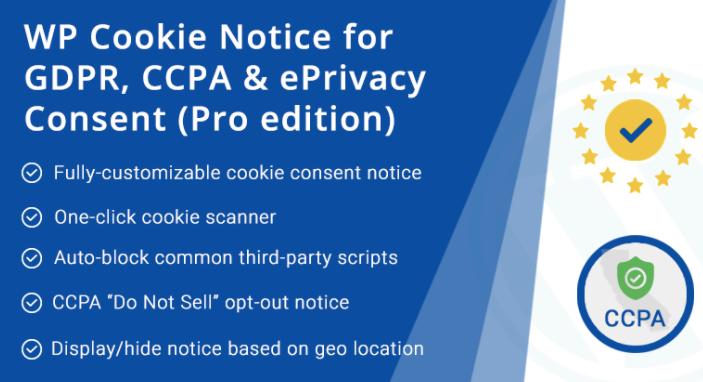 GDPR Cookie Notice