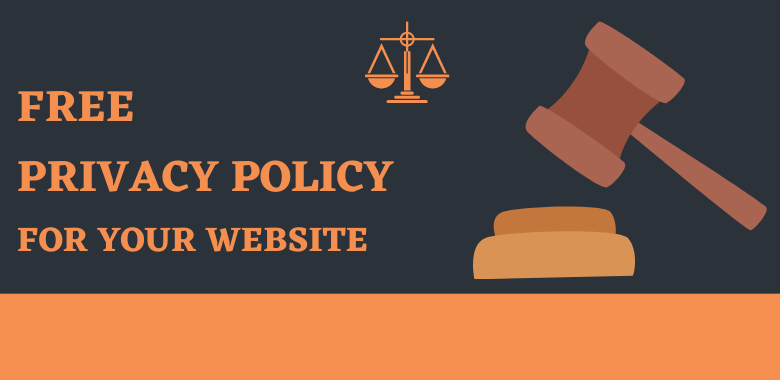 Privacy Policy for your Website (Free)