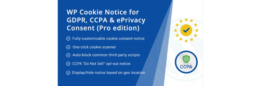 WordPress Cookie consent plugin for GDPR and CCPA