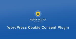 WP Cookie Notice for GDPR, CCPA & ePrivacy Consent plugin
